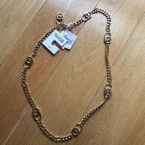 Authentic Michael by Michael Kors gold chain belt